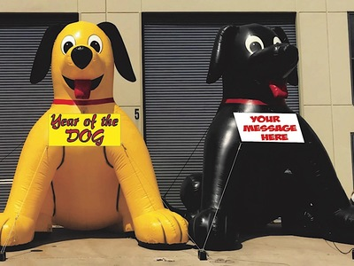 Inflatable Dog Promotions Rentals