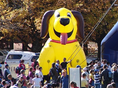 Inflatable Doggy Huge Crowd Promotion