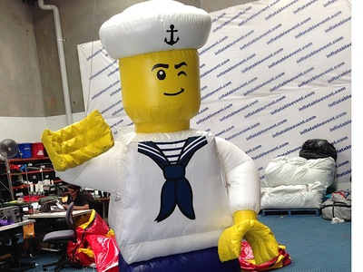 Inflatable Lego Man