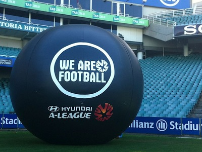a-league Giant Inflatable Football Eventball