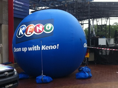 Inflatable Keno Ball Sphere