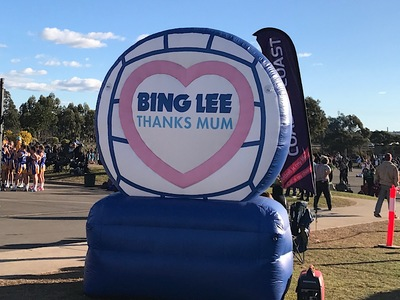 Bing Lee Inflatable Thanks Mum