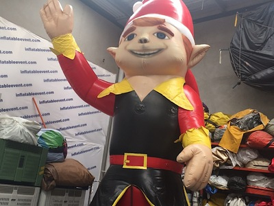 Christmas Elf Inflatable Promotion
