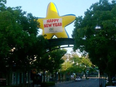Inflatable Star Rooftop Promotion Australia