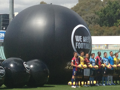 We are Football Giant Inflatable Football Soccer