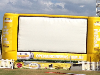 Outdoor Inflatable Cinema Screen
