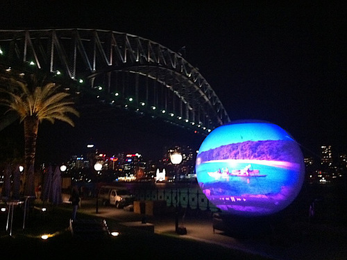 Projection Spheres / LED Fascias